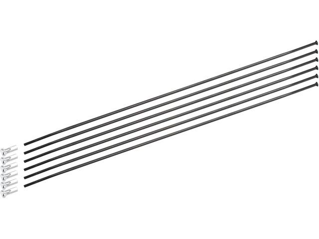 DT Swiss Spoke Kit For PRC 1400 Spline 65 mm black at